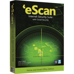 eScan Internet Security Suite with Cloud Security (10 PC 1 Year) - With GOLD Coin
