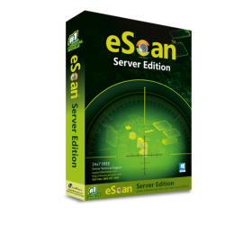 eScan Server Edition 1 Server, 1 Year - WIth GOLD Coin