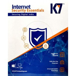 K7 INTERNET SECURITY ESSENTIALS 3 USER 1 YEAR