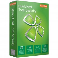 QUICK HEAL TOTAL SECURITY 1 USER 1 YEAR