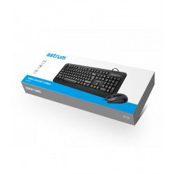 ASTRUM USB KEYBOARD AND MOUSE - KC120