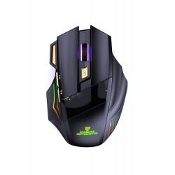 COCONUT WIRELESS RECHARGEABLE GAMING MOUSE WM22 GOLD