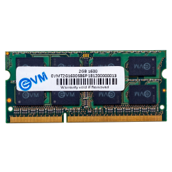 EVM 2GB DDR3 LAPTOP RAM