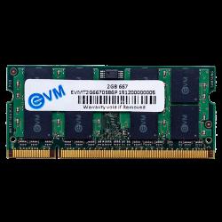 EVM 2GB DDR2 LAPTOP RAM