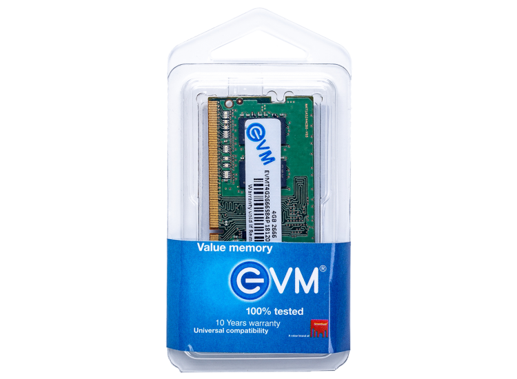 EVM 4GB DDR4 LAPTOP RAM