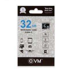EVM 32GB CLASS 10 MICRO SD CARD