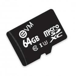 EVM 64GB CLASS 10 MICRO SD CARD