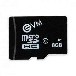 EVM 8GB CLASS 6 MICRO SD CARD