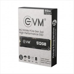 EVM 512GB PCIe NVME SOLID STATE DRIVE (SSD)