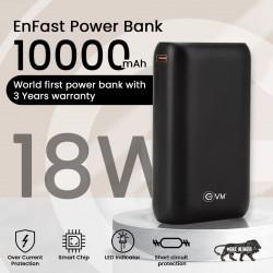 EVM 10000 MAH FAST CHARGE POWER BANK ENFAST