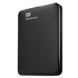 WESTERN DIGITAL 2TB EXTERNAL HARD DISK - ELEMENTS