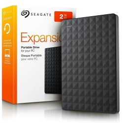 SEAGATE 2TB EXTERNAL EXPANSION HARD DISK