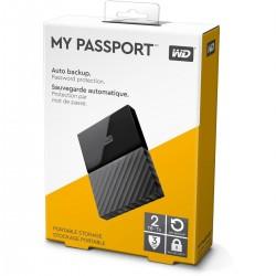 WESTERN DIGITAL 2 TB EXTERNAL HARD DISK - MY PASSPORT