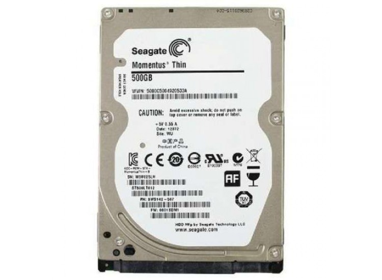 SEAGATE 500GB LAPTOP HARD DISK IMPORT
