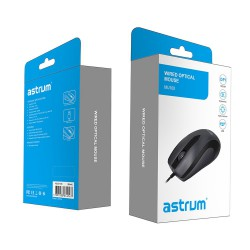 ASTRUM USB OPTICAL MOUSE - MU100