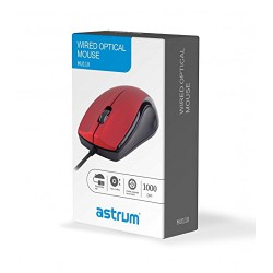 ASTRUM USB OPTICAL MOUSE - MU110