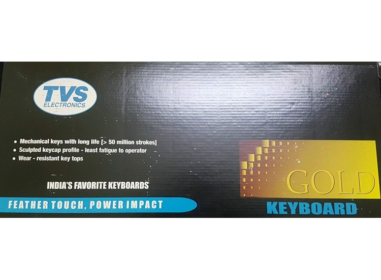 TVS GOLD KEYBOARD