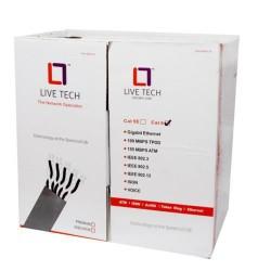 Live Tech Cat 6 Lan Cable 100 Mtr