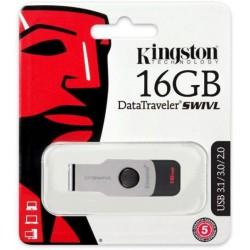 KINGSTON 16GB PENDRIVE 3.0 - DT SWIVEL