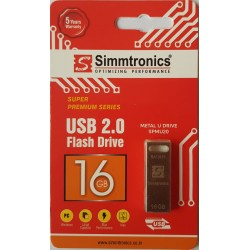 SIMMTRONICS 16 GB METAL PENDRIVE