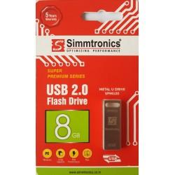 SIMMTRONICS 8 GB PEDNRIVE