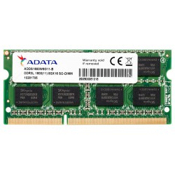 ADATA 8GB DDR3L 1600Mhz  Memory for Laptop